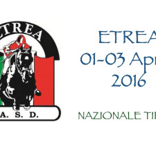 """""""LA STAFFA"""" – 1-3 APRILE 2016 ETREA Nazionale A * * * * *"""